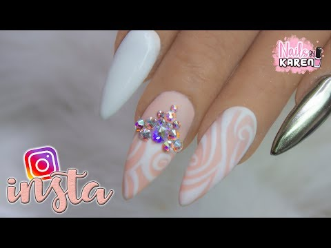 Videos de uñas - RECREANDO UÑAS ELEGANTES de INSTAGRAM