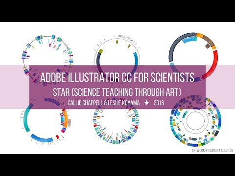 Adobe Illustrator For Scientists: Part 1 - Vector Graphics, Adobe Illustrator, Capture, & Draw