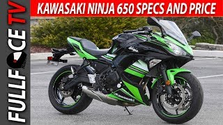 2. 2017 Kawasaki Ninja 650 Specs and Review