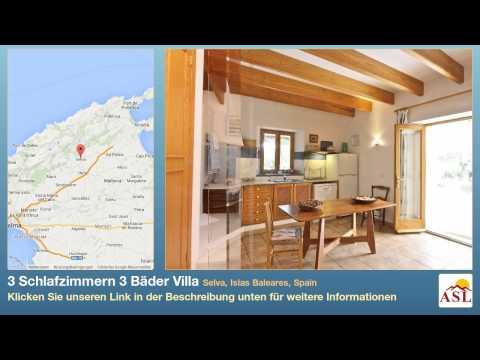 3 Schlafzimmern 3 Bäder Villa zu verkaufen in Selva, Islas Baleares, Spain