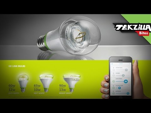 bulb - A $15 LED bulb with built in wireless remote control...sounds crazy, right? Meet GE's Link Connected LED Bulb--AKA the Link 60W equivalent soft white 2700K A...