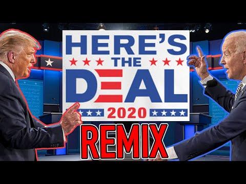 LOOK HERE'S THE DEAL!  Trump vs Biden REMIX (2020 US Presidential Debate) - WTFBRAHH