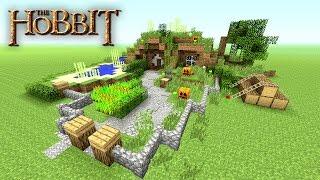 Minecraft: How to make a Hobbit Hole Tutorial   Hobbit House   Small Survival House Tutorial   2016