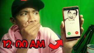 Video JANGAN PERNAH TELEPON MR. BEAN JAM 12 MALAM!! CHALLENGE GONE WRONG!! MP3, 3GP, MP4, WEBM, AVI, FLV Maret 2019