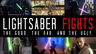 Video EXAMINING LIGHTSABER FIGHTS - The Good, The Bad, and The Ugly MP3, 3GP, MP4, WEBM, AVI, FLV Juni 2018