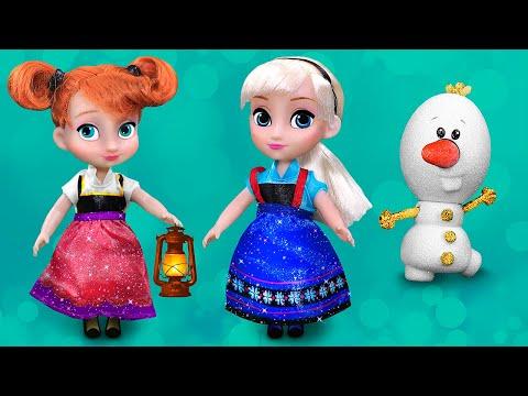 Trò chơi chọn trang phục Jumpsuits cho công chúa Disney: Ariel, Aurora, Belle, Elsa, Bạch tuyết...
