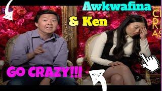 "Video Awkwafina & Ken Jeong Goes  CRAZY rapping!!!  ""Crazy Rich Asians"" MP3, 3GP, MP4, WEBM, AVI, FLV Desember 2018"
