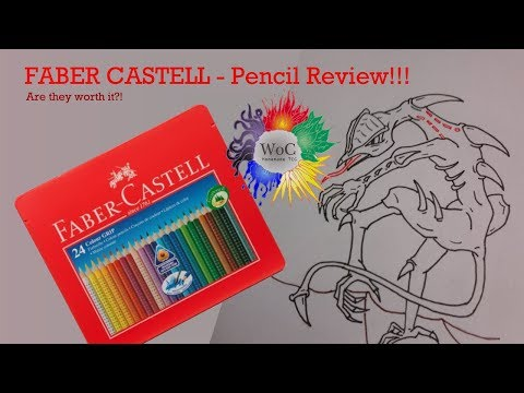 Faber Castell Colour Grip review for Wrath of Cores Homemade TCG!