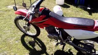 8. 2008 Honda crf100f walk around