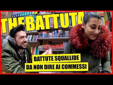 Battute Squallide alle Commesse - theBattuta tra la Gente - [Candid Camera] - theShow