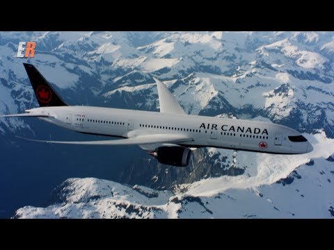 Teams of skilled pilots and cinematography experts film air to air shots of Air Canada's new livery.