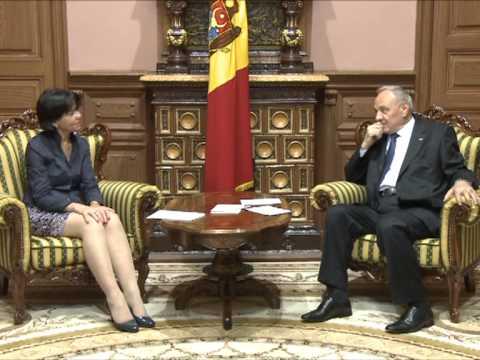 Nicolae Timofti a avut o întrevedere cu Nicola Harrington, reprezentant permanent PNUD în Republica Moldova