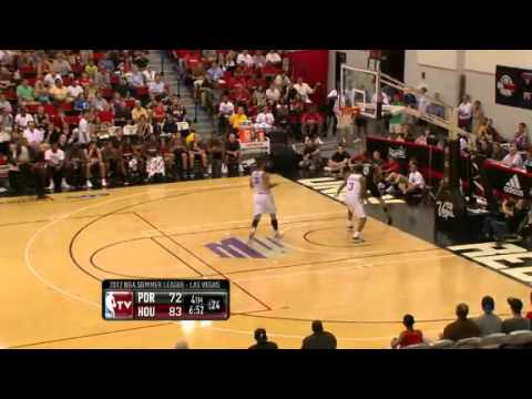 Damian Lillard throws it down against Rockets