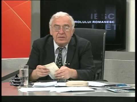 Emisiunea Seniorii Petrolului Românesc – Traian Blebea –  22 februarie 2014
