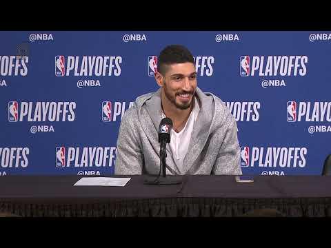 Enes Kanter Postgame Press Conference | Game 1 vs. OKC | 2019 NBA Playoffs