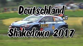 35ème ADAC Rallye Deutschland, shakedown le 17 août 2017.