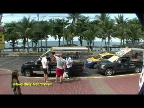 PATTAYA BEACH & CITY SITES, THAILAND
