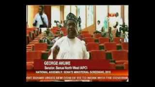 Ministerial Screening: Senators drill Adamu Adamu