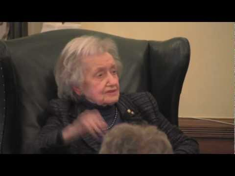 Women in Science: Royal Society Fellow Dr. Brenda Milner
