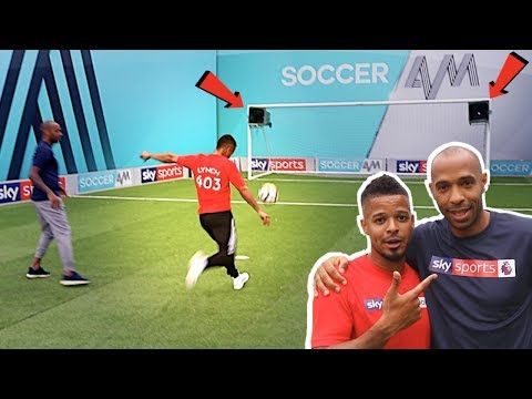 TOP BINS CHALLENGE WITH THIERRY HENRY!