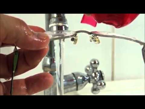 Como lavar seus óculos