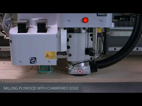 Producing signage and displays with the Kongsberg X cutting table