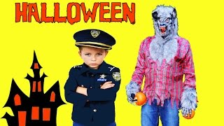 Werewolfe and the Stolen HALLOWEEN Pumpkins a YouTube Kid Friendly Family Video