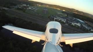 GOPRO Hero HD KDXR Straight In Early Morning Approach
