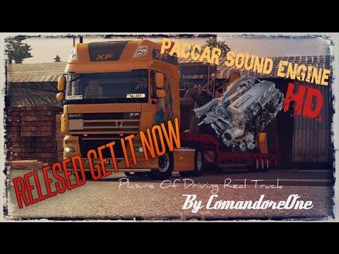 DAF XF PACCAR Sound Mod COne