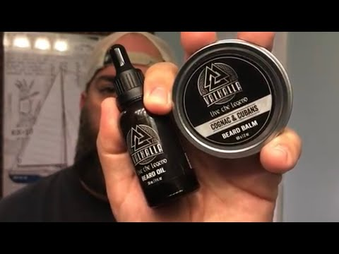 Valhalla Legend Beard Oil & Balm Review - Highly recommend this company!
