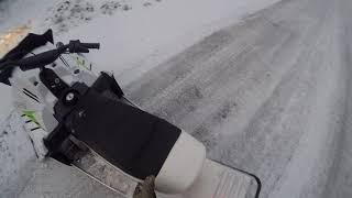 4. ZR 200/snow scoot top speed on radar (with 160 lbs adult rider)