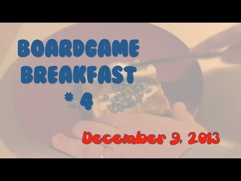 breakfast - Tom Vasel and friends take a look at the news and other gaming related goodness in this third episode, recorded December 9, 2013 Buy great games at http://ww...