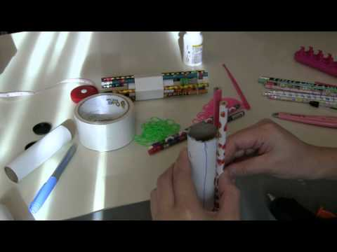 Handmade Hexafish rubber band bracelet loom maker DIY