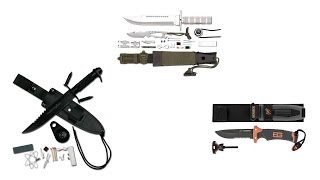 Nonton Top 5 Best Survival Knives Reviews 2016   Best Stainless Steel Survival Knife Film Subtitle Indonesia Streaming Movie Download