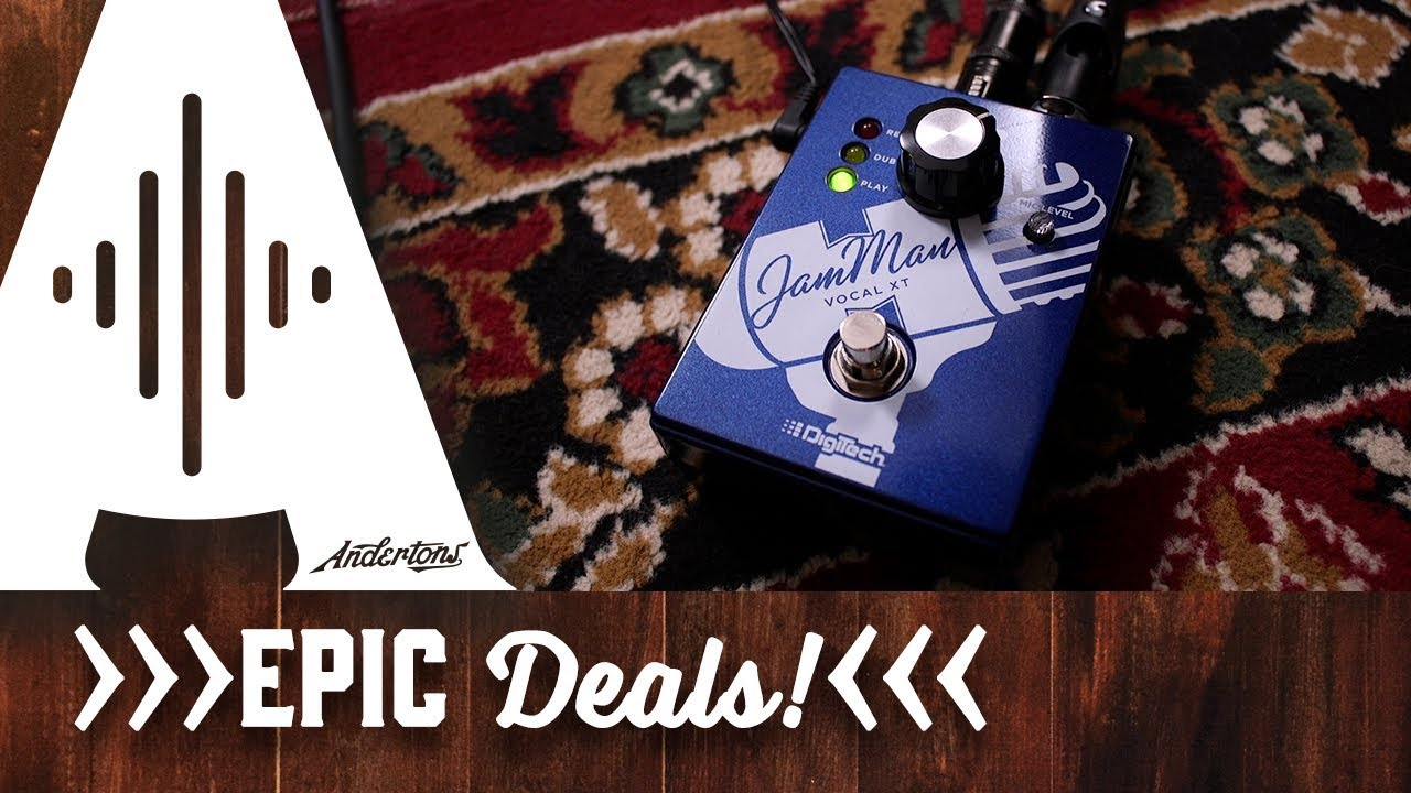 Digitech Acoustic Guitar Looper Pedal for £20!!
