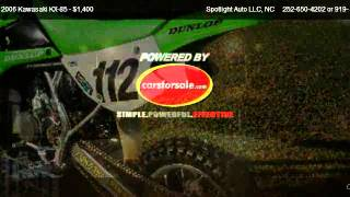 3. 2006 Kawasaki KX-85  - for sale in Goldsboro, NC 27530