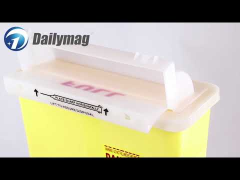 How To Use Dailymag Dms-t4.6a 4.6l/5 Quart Medial Sharps Container