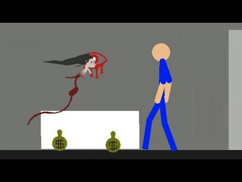Stick Nodes Eyes The Horror Game Animation (видео)