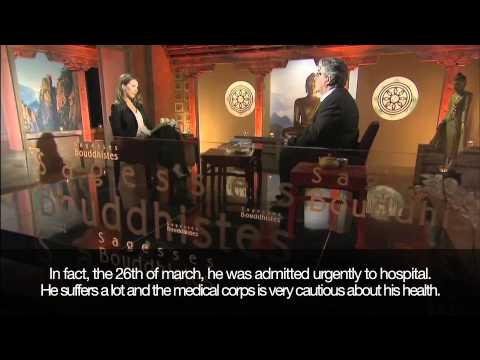 Tenga Rinpoche on French Public TV, with English subtitles.