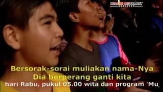 Bersorak-sorai - Live Report Healing Movement Crusade Manado