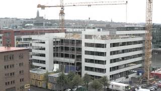 Byggfilm: Göteborg - Lindholmskajen, Theres Svenssons gata 7