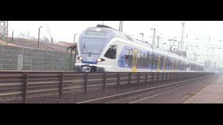 Vecses Hungary  city images : Stadler Flirt train at Vecsés, Hungary | TVchips.hu