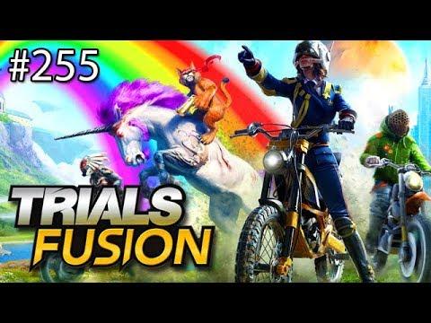 R.I.P. MY CURLY HAIR - Trials Fusion w/ Nick (видео)