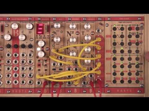 Knit Rider sequencer DEMO – Bastl Instruments Modular