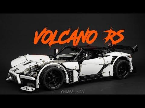 Volcano Rs Lego Technic Supercar W Instructions