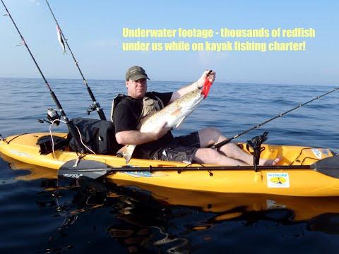 Ocean Bull Redfish from a kayak