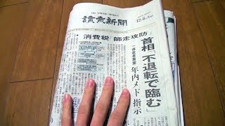 Unintentional ASMR 📰 Browsing through Japanese Newspaper & Paper Ads (Page Turning & Talking)