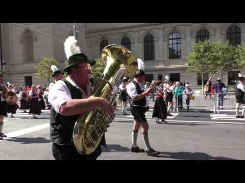 Steuben Parade~2014~NYC~Schutzenkapele Holzheim Marching Band~NYCParadelife