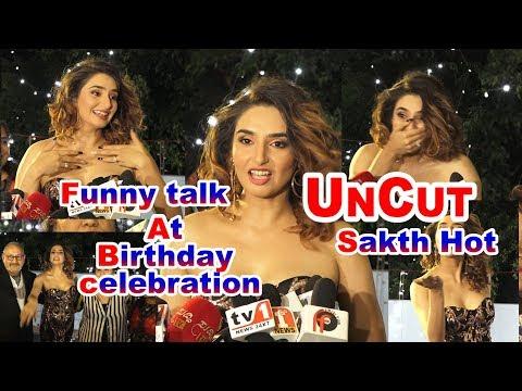 Video Ragini Dwivedi hot Funny Talk Uncut With Media At 28th Birthday Celebration download in MP3, 3GP, MP4, WEBM, AVI, FLV January 2017
