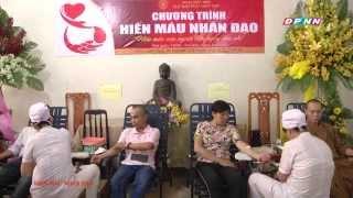 Chương trình hiến máu nhân đạo tại chùa Giác Ngộ 04-04-2015